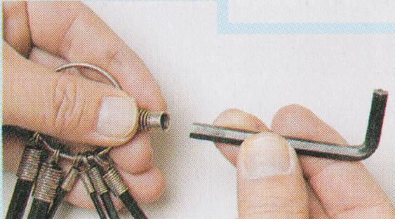 六角棒レンチの使い方2