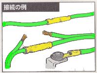圧着端子接続例