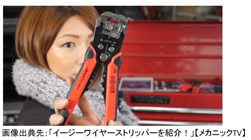 ワイヤーストリッパー 女性 DIY