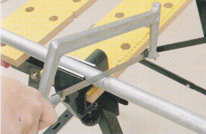 金属パイプの切り方