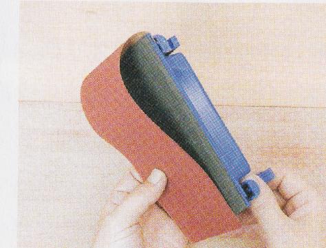 サンドペーパーホルダーの使い方2