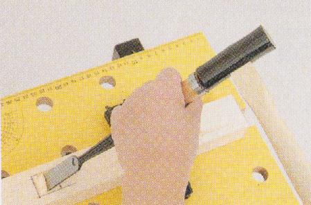鑿の使い方基本2