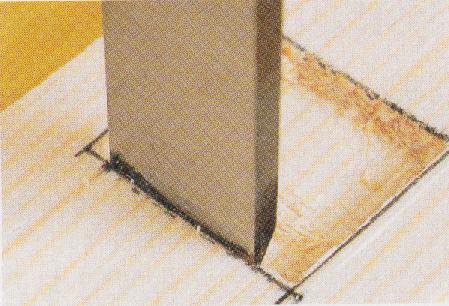 鑿の使い方基本5