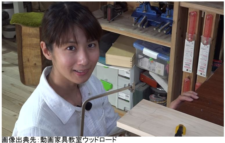 糸鋸 DIY女子