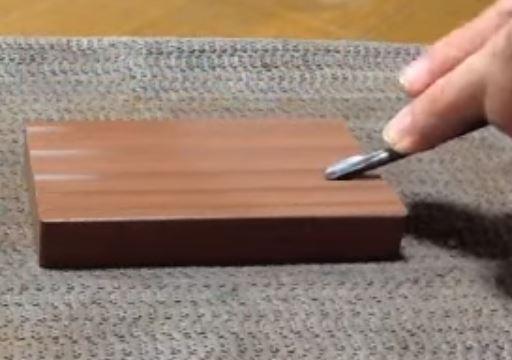 彫刻刀 丸刀の研ぎ方