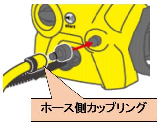ホース側カップリング 高圧洗浄機 アクセサリー