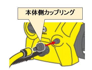 高圧洗浄機 アクセサリー 本体側カップリング