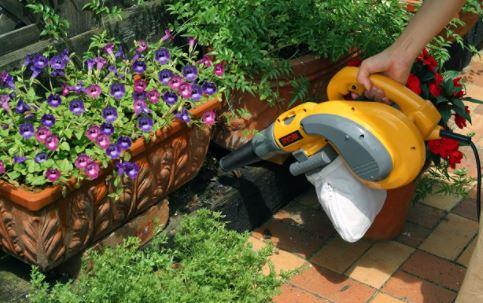 充電式コードレス ブロワー  倉庫、家庭菜園の清掃
